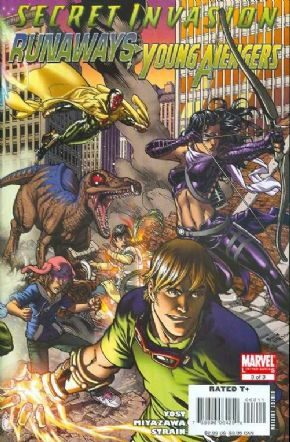 Secret Invasion Runaways Young Avengers #3 (2008) Marvel comic book